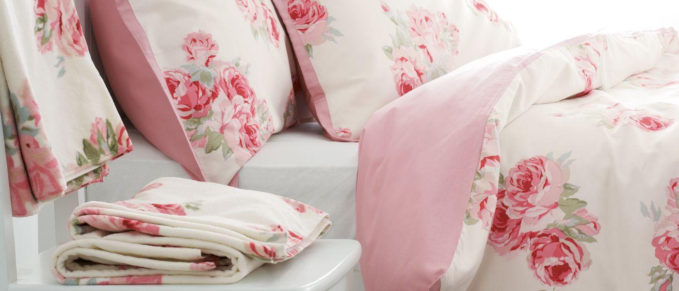 спално бельо рози