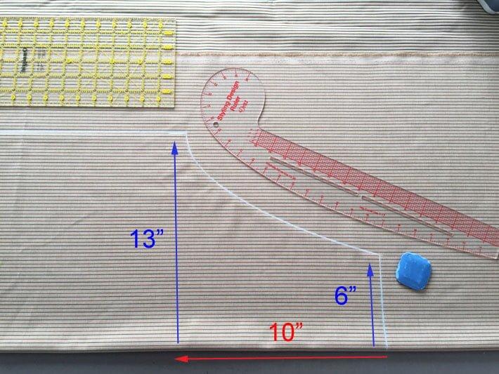 кройка и размери на престилката