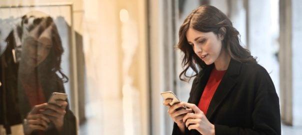 онлайн пазаруване и управляване на финанси дистанционно