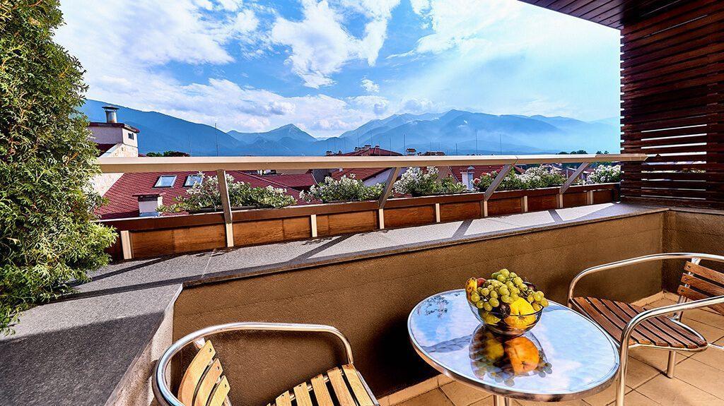 Гледка от хотел Лъки Банско