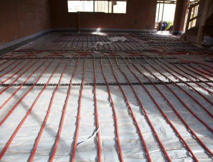 Подовото отопление - достъпно и уютно