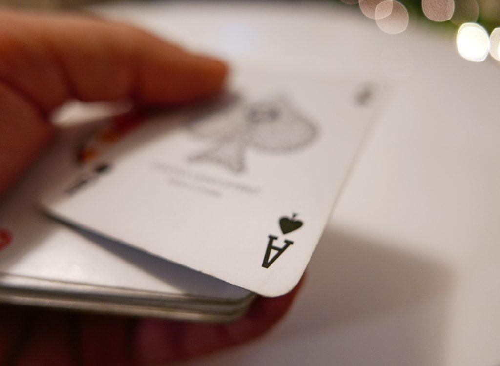 тесте с карти за игра