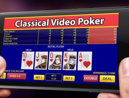 Кои са най-добрите видео покер игри