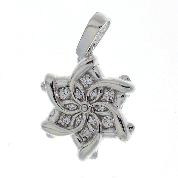 Висулка от сребро с камък 173106
